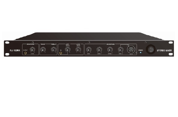 SIX CHANNEL STEREO MIXER