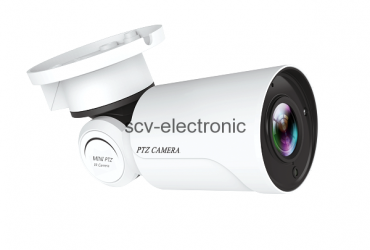 IP MINI PTZ (BULLET) CAMERA 2.0MP (MOTORIZED LENS, H.265)