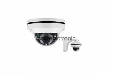 IP MINI PTZ (DOME) CAMERA 2.0MP (MOTORIZED LENS, H.265)